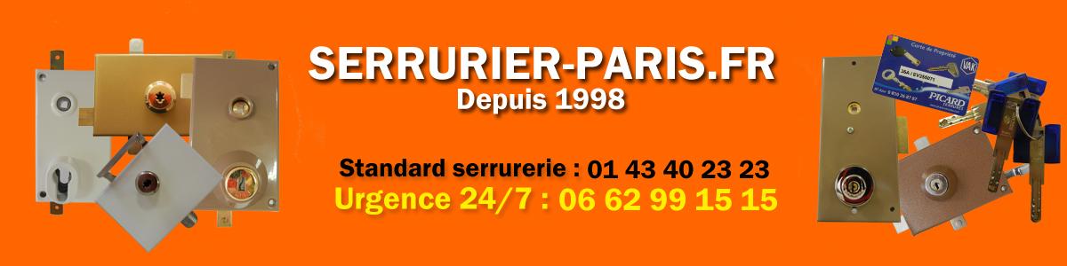 Dépannage serrurier et ouverture de porte 24/7 à Paris