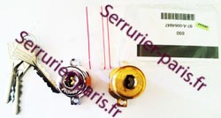 Dépannage cylindre Fichet 690 pour serrure Sans Souci Paris