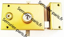 Dépannage serrure 3 ou 5 points JPM KESO 2000 horizontale fouillot droite Paris