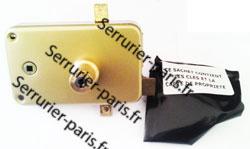 Dépannage serrure 3 ou 5 points Laperche Rols horizontale fouillot droite Paris